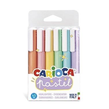 Carioca Carioca Pastel İşaretleme Kalemi 6'Lı Renkli